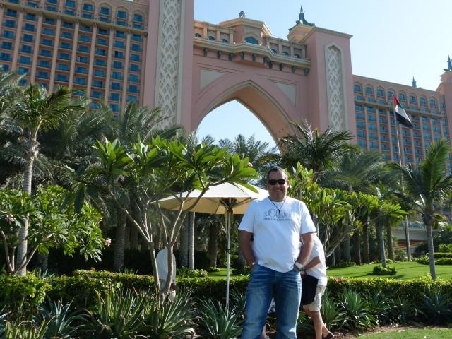 Ralf Schmitz bei einem Besuch in Dubai